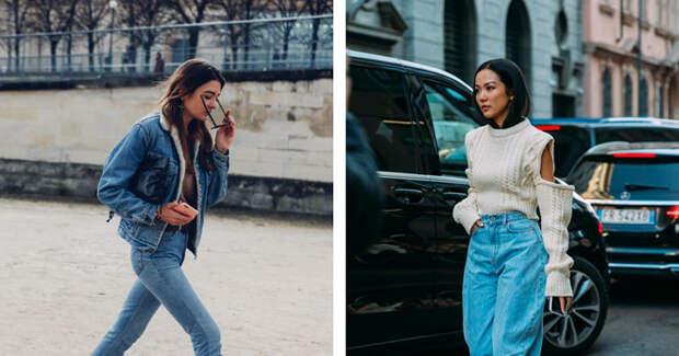 Perfect match: 5 модных сочетаний джинсов с трендами сезона
