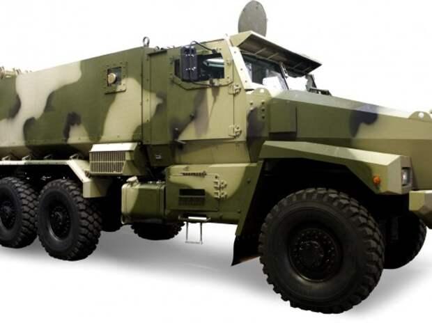 КАМАЗ совместно с ВДВ создает универсальную бронемашину