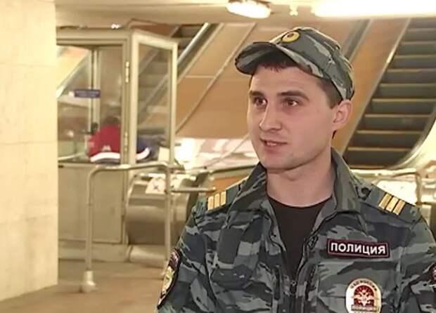 Полицейский закрыл собой пассажира, упавшего под поезд в метро метро, событие, полиция, Спасение, Москва