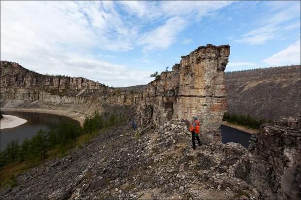 Самое красивое место Анабарского плато (15 фото)