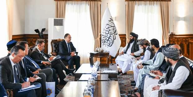 Что спецпредставитель Токаева обсуждал с талибами в Афганистане?
