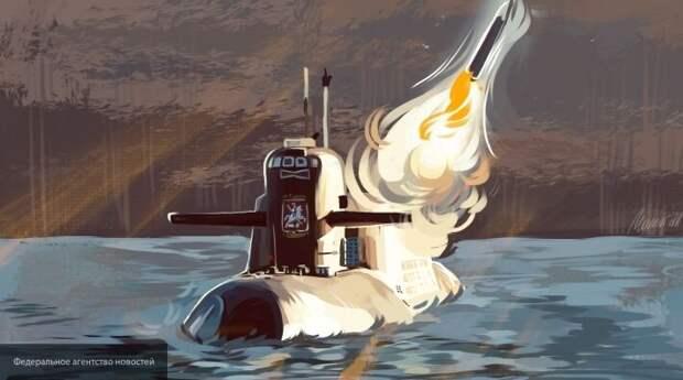SVT сообщило о появлении в Балтийском море российской суперподлодки класса «Антей»