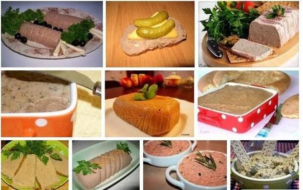 Десять рецептов аппетитных домашних паштетов