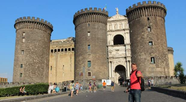 Неаполь на экскурсионном автобусе City Sightseeing Naples VLOG 7 (Сезон 4)
