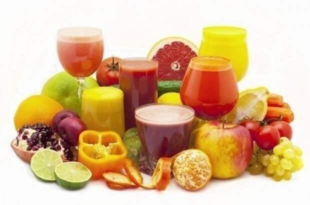 Делаем оздоровительные соки