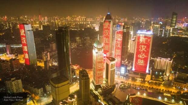 """Коронавирус """"уронил"""" розничные продажи в Китае на 20,5 процентов"""
