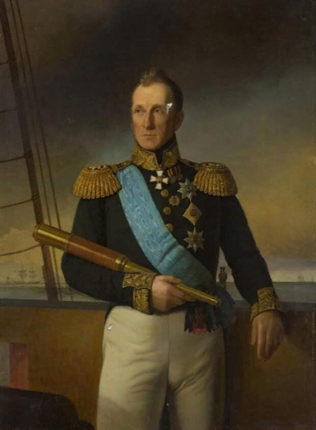 Как один адмирал трех императоров победил