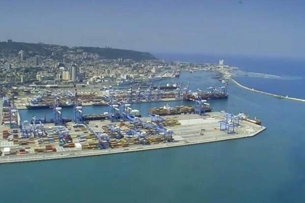 Порт в Хайфе