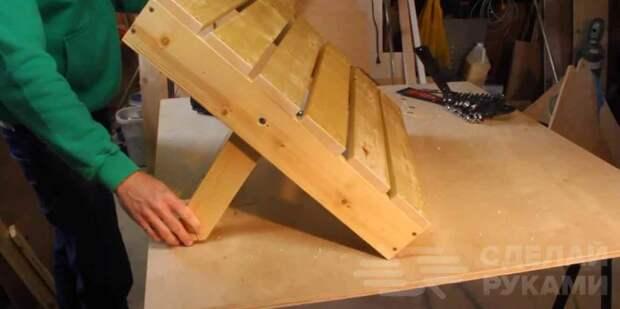 Классная кровать-трансформер из обычных досок