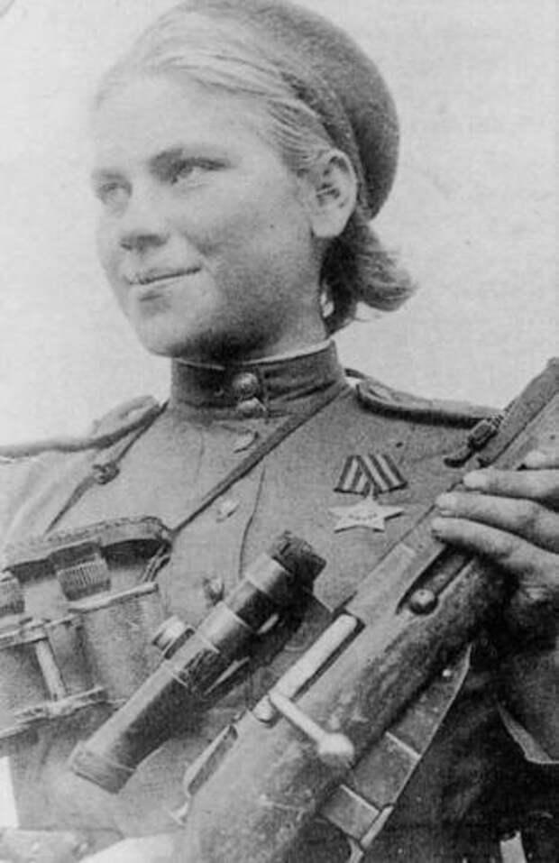 Роза Шанина. 54 уничтоженных противников.
