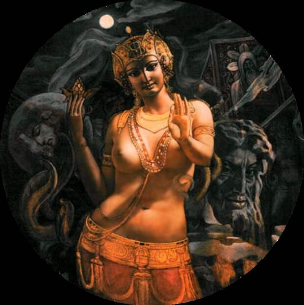 Александр Исачев «Богиня Иштар»