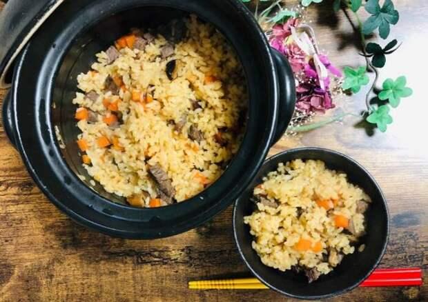 Японский плов. \ Фото: cookpad.com.