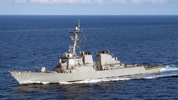 """Аналитик назвал """"тактической уловкой"""" отмену захода эсминцев ВМС США в Черное море"""