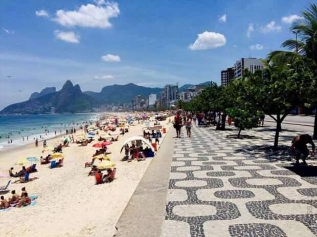 Бразильцы игнорируют карантин