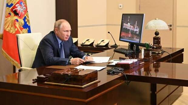 Путин провёл совещание Совбеза РФ на котором обсудил обстановку в Афганистане и на армяно-азербайджанской границе