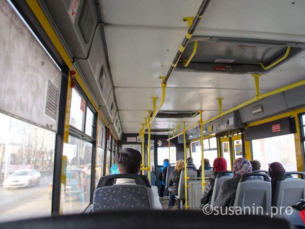 В Ижевске с 16 августа изменится маршрут автобуса № 31