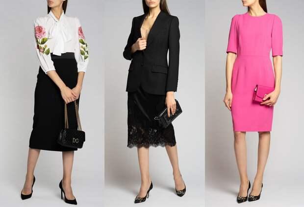 Респектабельно и со вкусом - подборка образов для офиса от Dolce&Gabbana