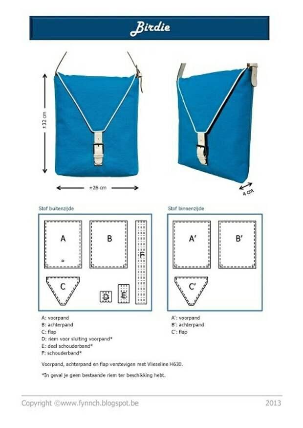 Выкройки сумок