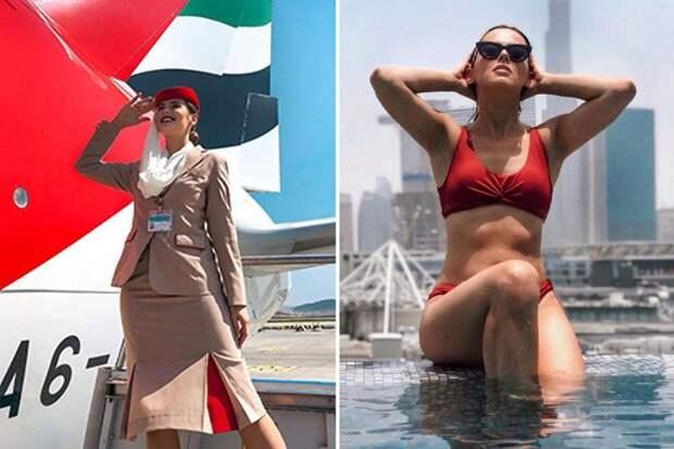 Птица высокого полета: стюардесса стала звездой Инстаграма и бросила работу в авиакомпании
