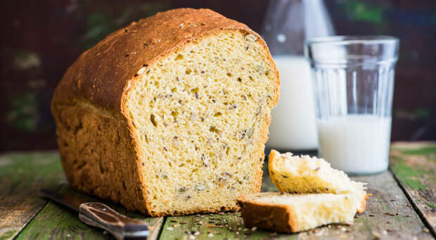 Хлеб на соевом молоке. \ Фото: gastronom.ru.