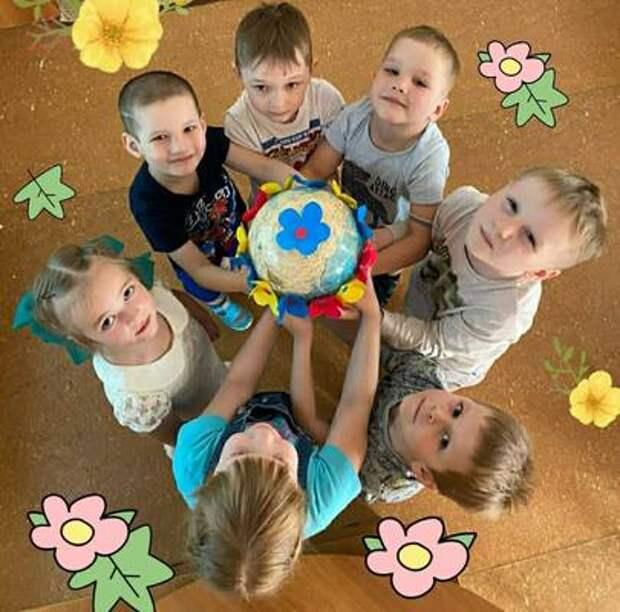 В дошкольных учреждениях Советского района прошла экоакция «Сбережем планету вместе!»