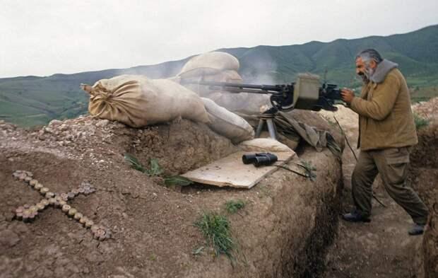 Доброволец войны в Карабахе рассказал, как по ночам местные шли спать домой