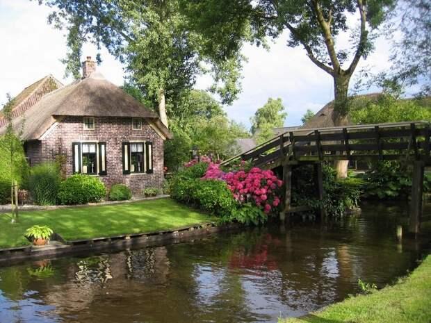 Giethoorn22 Гитхорн: деревня, где нет дорог