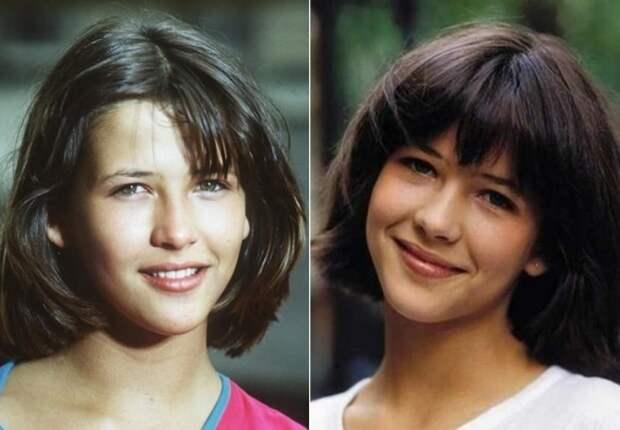 В 14 лет Софи Марсо стала звездой кино | Фото: radikal.ru и acteurs.ru