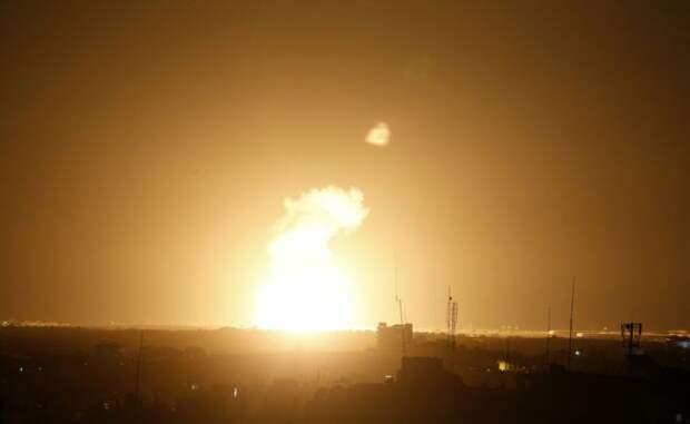 Израиль нанёс ракетный удар повоенной базе всекторе Газа