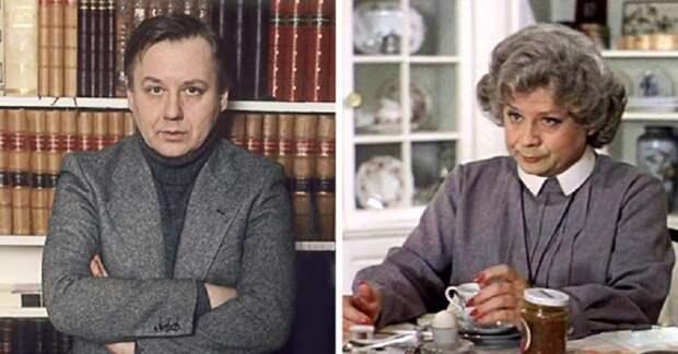 Советский и российский актёр театра и кино.