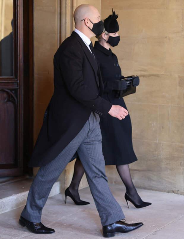 """Муж Зары Тиндалл рассказал, что произошло после похорон принца Филиппа: """"Все должны были уйти"""""""
