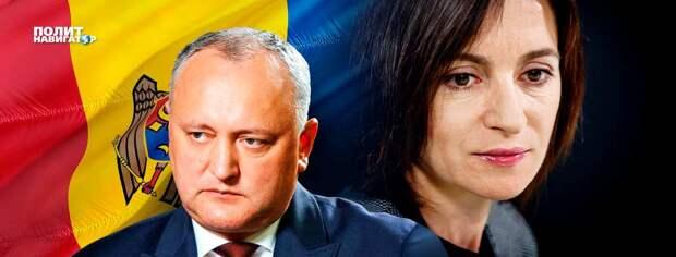Прозападная Санду победила на выборах в Молдове многовекторного Додона