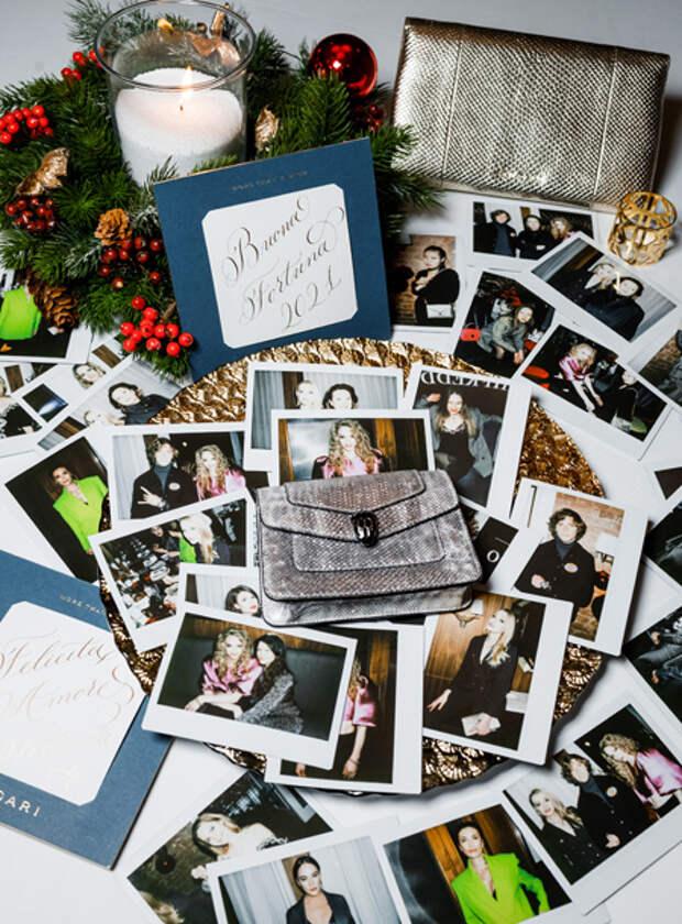 Светлана Ходченкова, Аглая Тарасова и другие гости новогоднего ужина Bvlgari