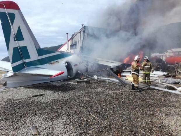 Уголовное дело возбудили дело после авиакатастрофы Ан-24 с погибшими в Бурятии