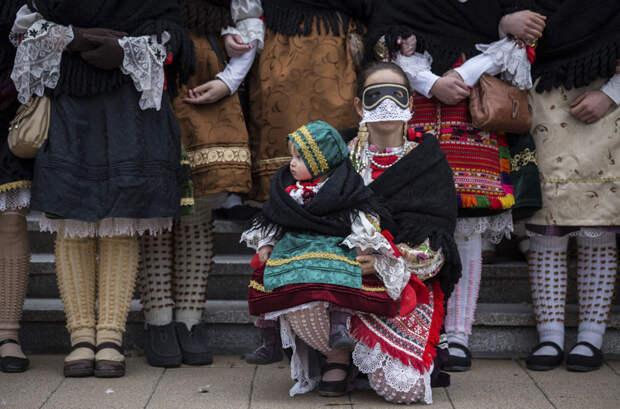 Как в Венгрии зиму провожают