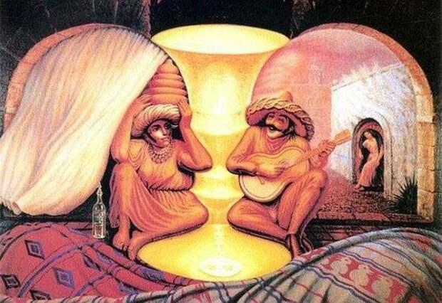 Лучшие оптические иллюзии, ставшие интернет-мемами
