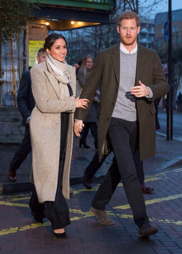 Меган Маркл и принц Гарри посетили ужин в честь будущего ребенка Кэтрин Макфи и Дэвида Фостера