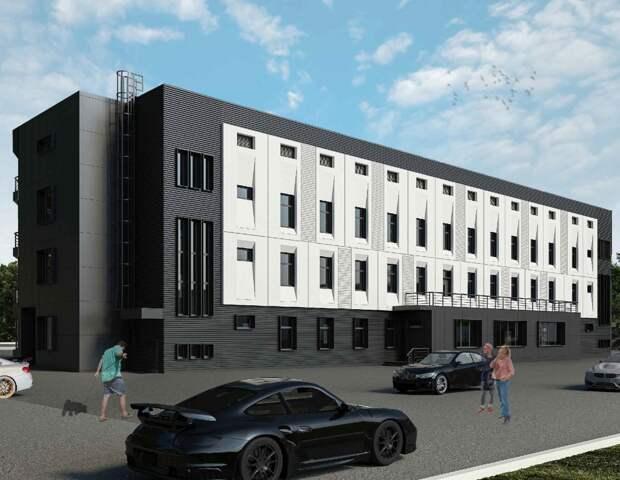 Деловой центр в Лианозове оформят в виде «домино»