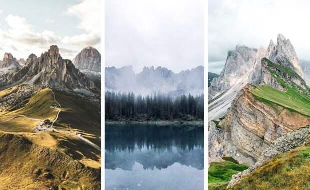 Шедевральные снимки туристов, которые больше напоминают произведения искусства