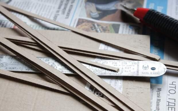 За чистоту природы: поделки из картона