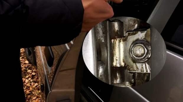 Как поднять просевшую дверь за пару минуту на любом авто