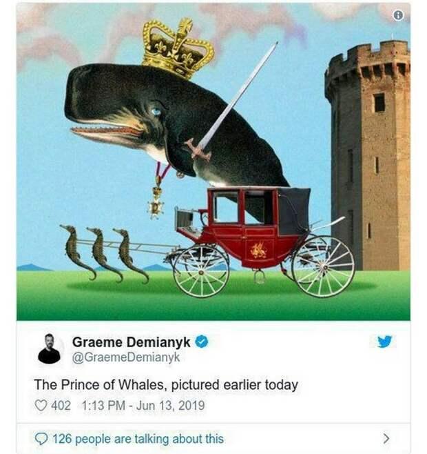Принц Уэльса и «принц китов» — обиженных англичан не остановить