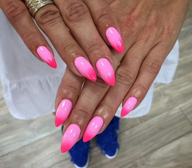 розовый френч фото 18