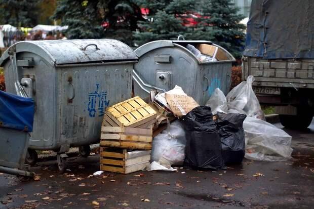 Летом в России вырастут тарифы на вывоз мусора
