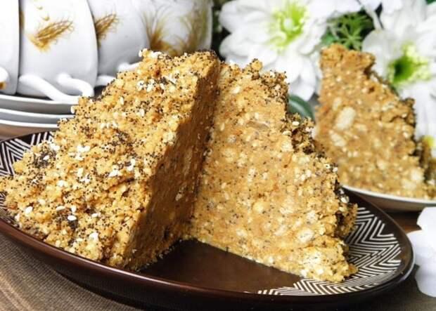 Торт Муравейник без выпечки. Десерт из печенья за 10 минут 4