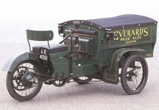 Auto-Carrier Delivery Van — коммерческий автомобиль начала XX века