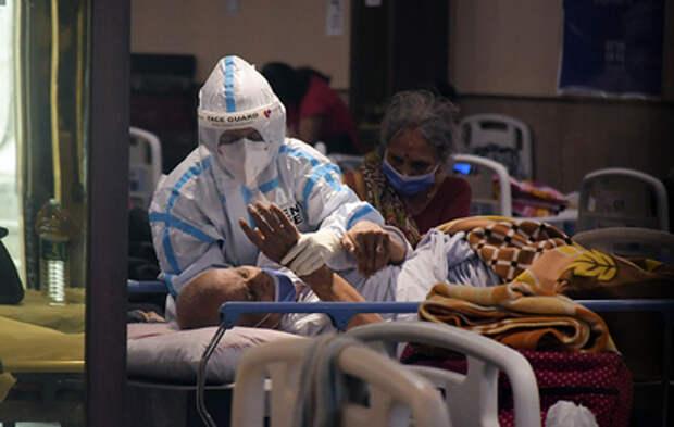 Пожар в ковидном госпитале в Индии унес жизни 13 пациентов