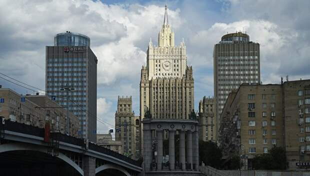 Здание МИД РФ в Москве. Архивное фото