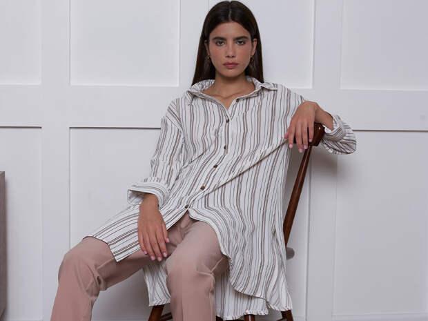 Рубашка с длинным рукавом – основа женского гардероба