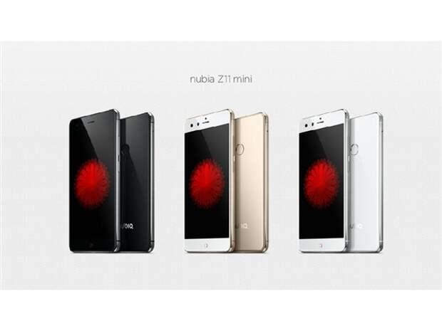 ZTE анонсировала смартфон Nubia Z11 mini с мощной камерой